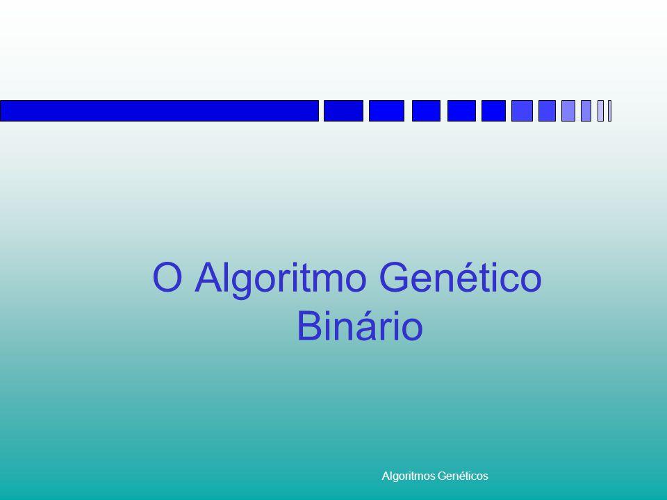 O Algoritmo Genético Binário