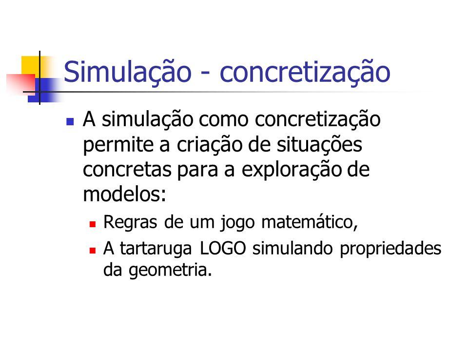 Simulação - concretização