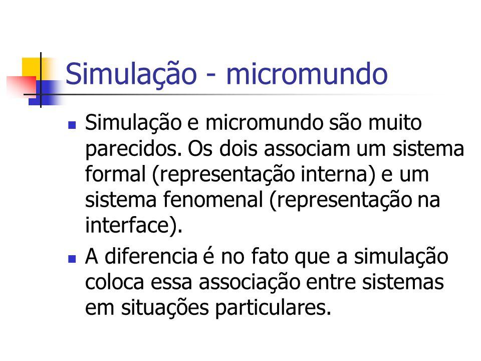 Simulação - micromundo