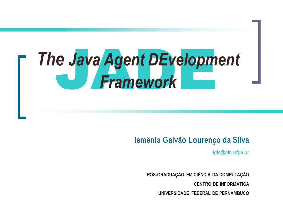 The Java Agent DEvelopment Framework