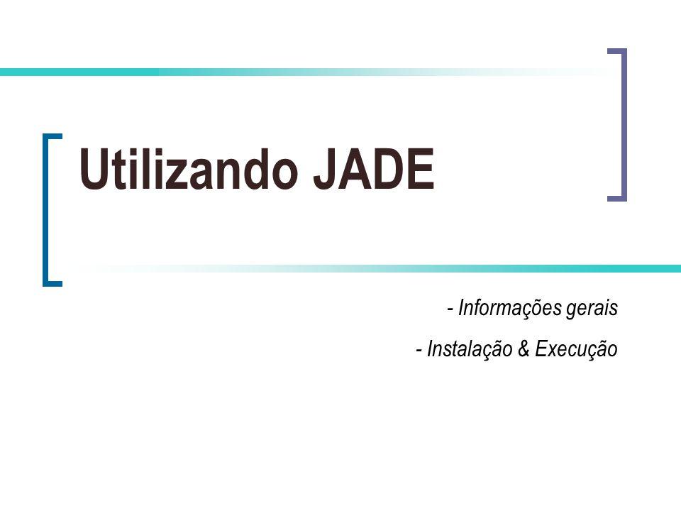 - Informações gerais - Instalação & Execução