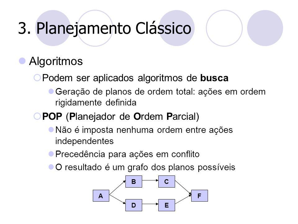 3. Planejamento Clássico