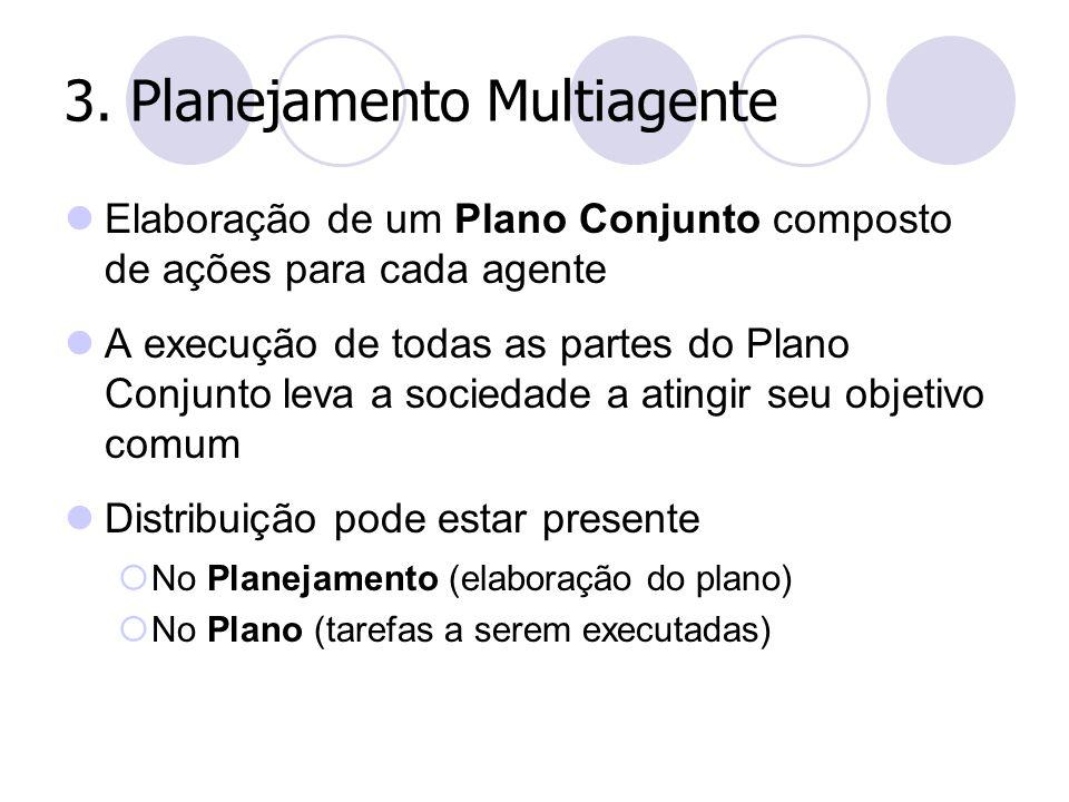 3. Planejamento Multiagente