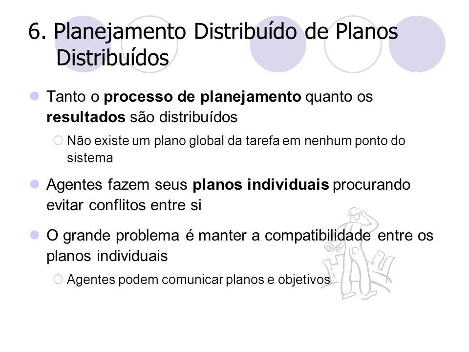6. Planejamento Distribuído de Planos Distribuídos