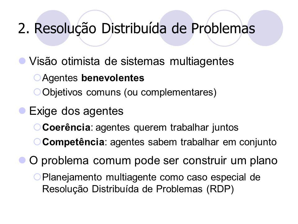 2. Resolução Distribuída de Problemas