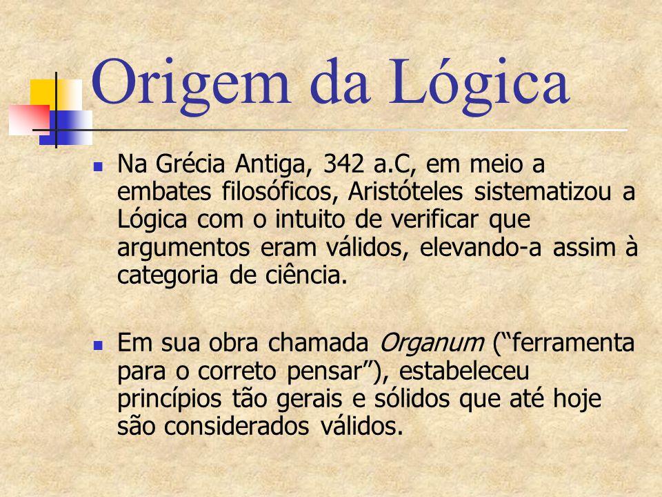 Origem da Lógica