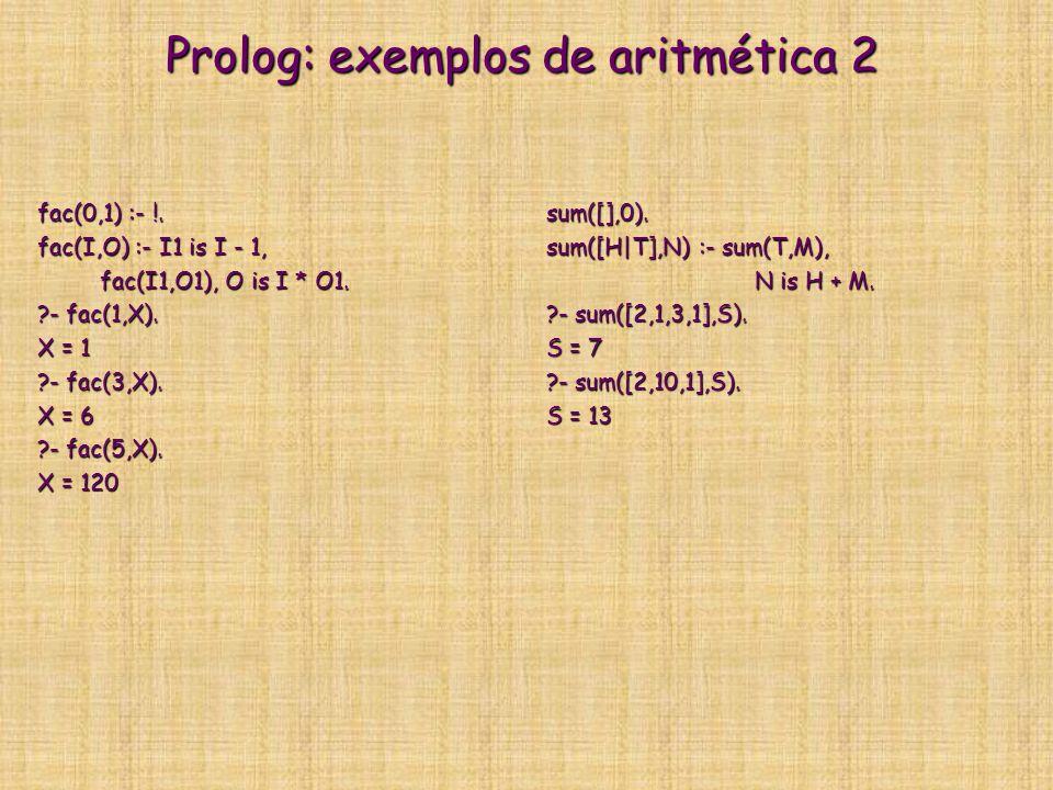 Prolog: exemplos de aritmética 2