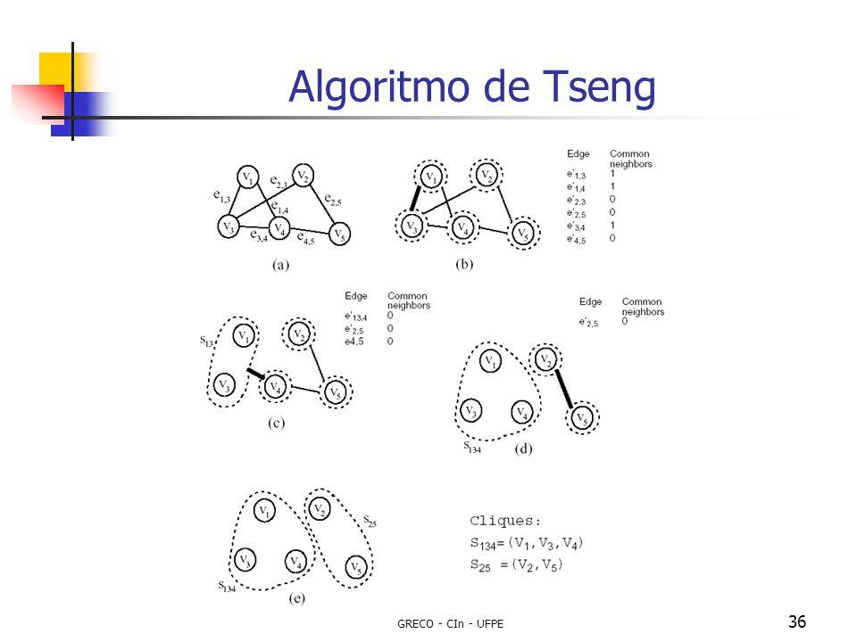 Algoritmo de Tseng GRECO - CIn - UFPE