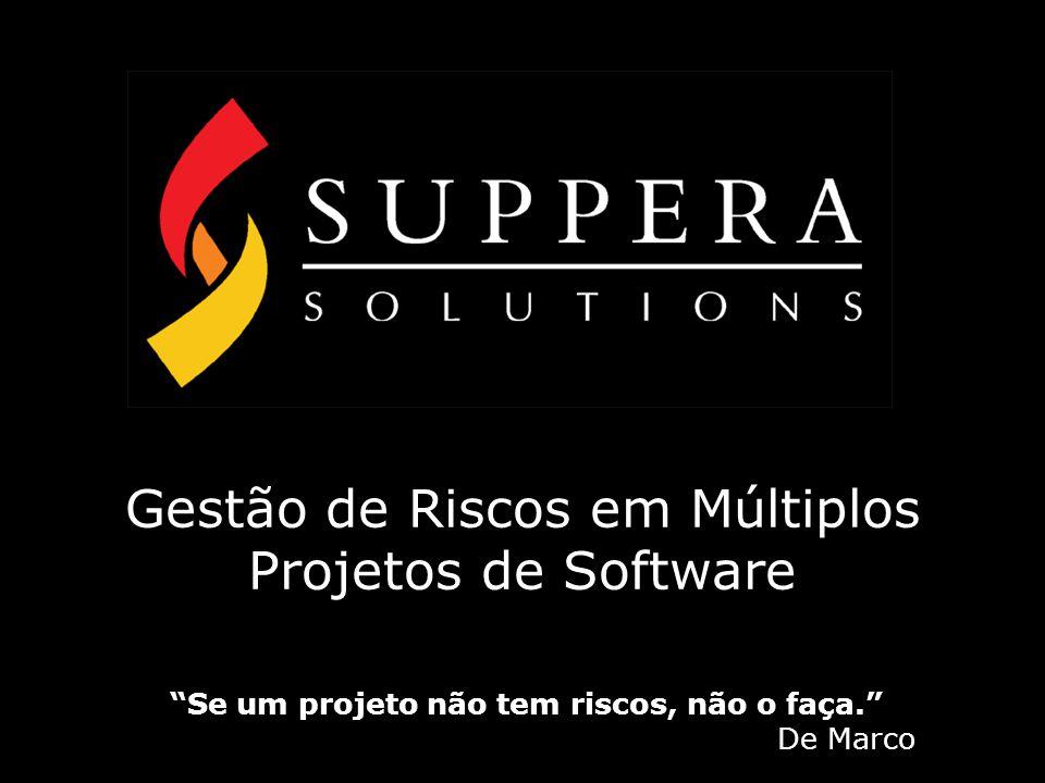 Gestão de Riscos em Múltiplos Projetos de Software