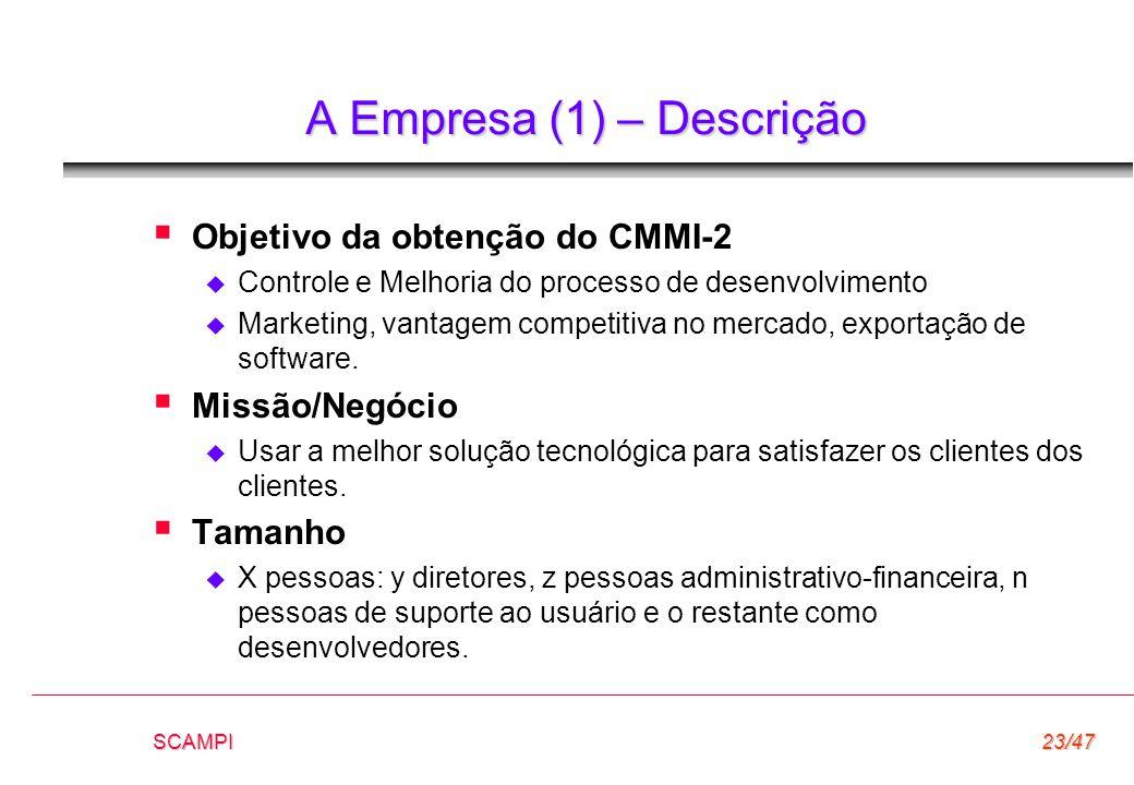 A Empresa (1) – Descrição