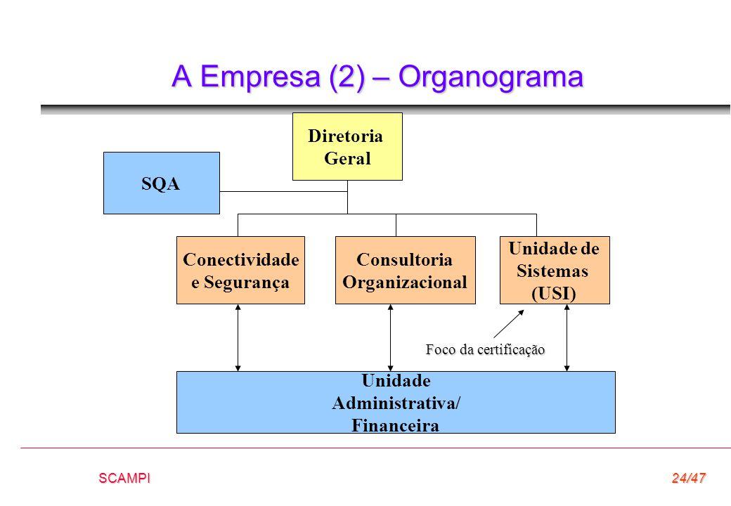 A Empresa (2) – Organograma