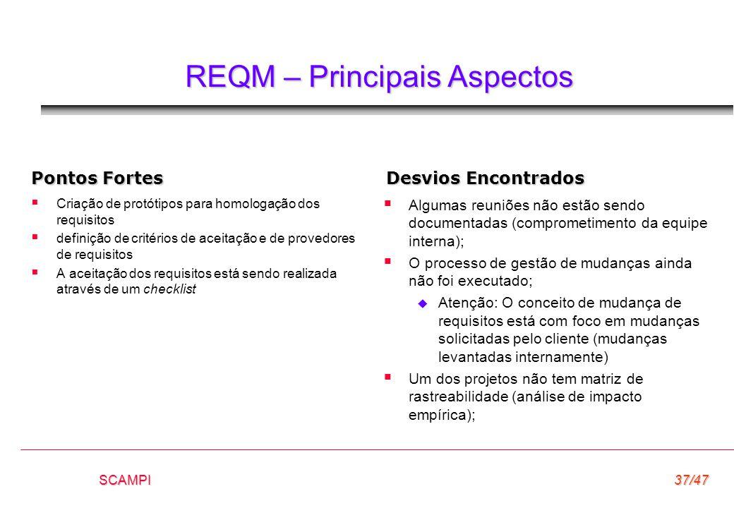 REQM – Principais Aspectos
