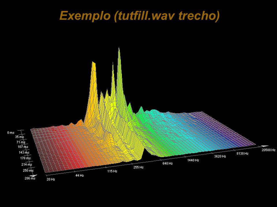 Exemplo (tutfill.wav trecho)