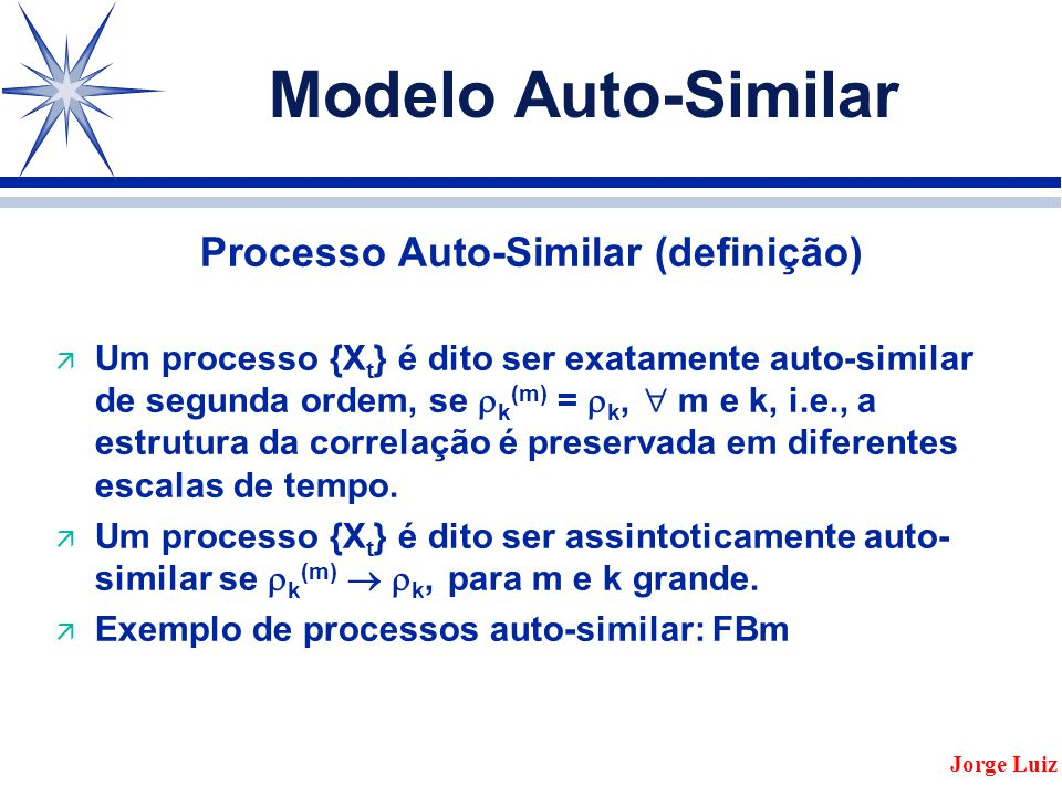 Processo Auto-Similar (definição)