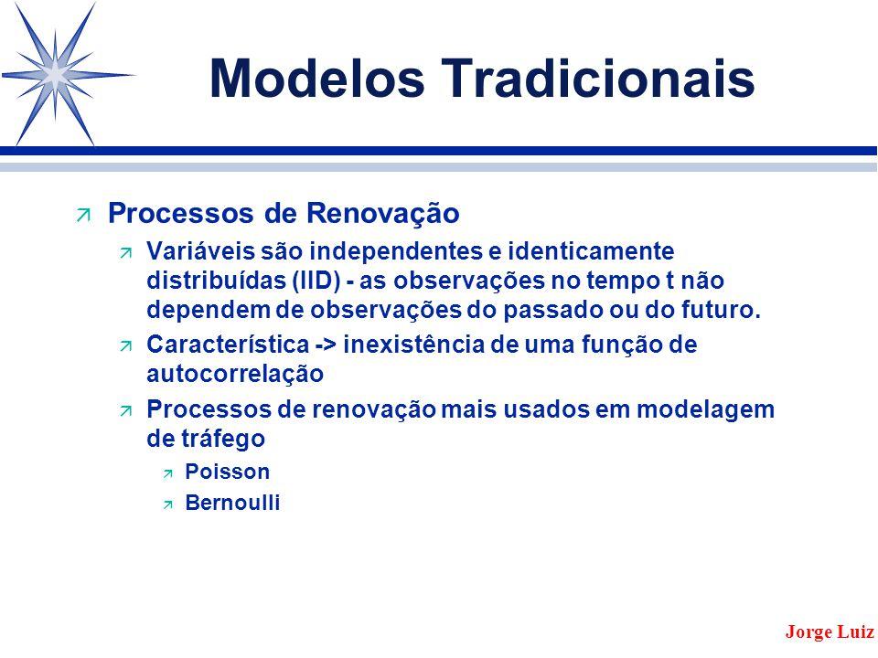 Modelos Tradicionais Processos de Renovação