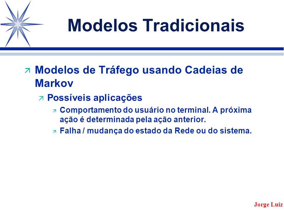 Modelos Tradicionais Modelos de Tráfego usando Cadeias de Markov