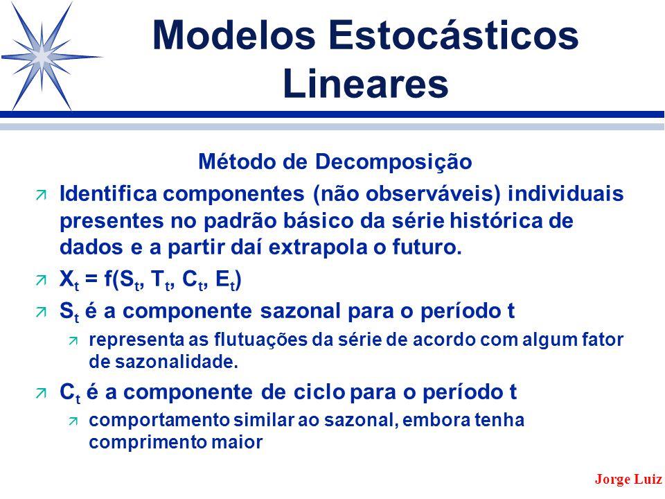 Modelos Estocásticos Lineares