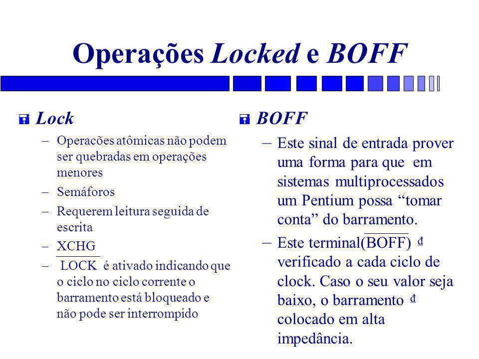 Operações Locked e BOFF