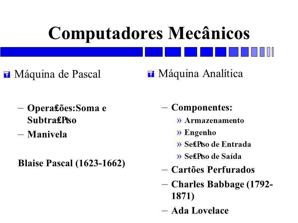 Computadores Mecânicos