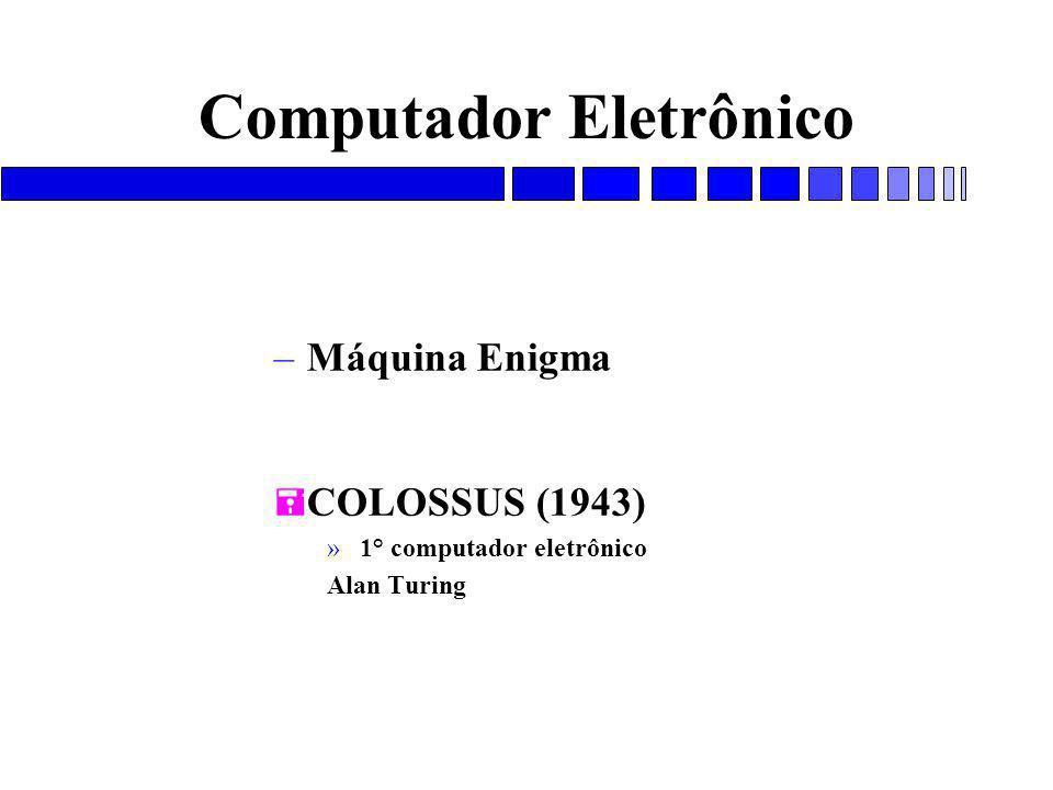 Computador Eletrônico