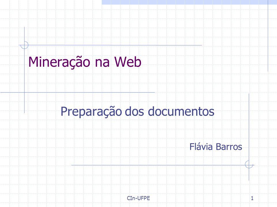 Preparação dos documentos Flávia Barros