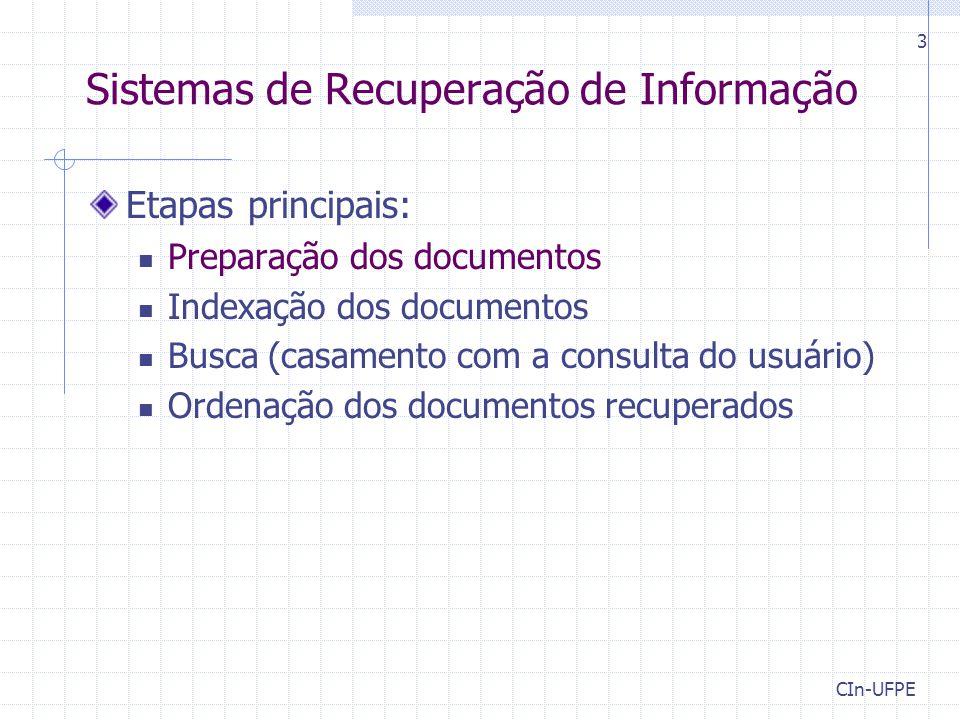 Sistemas de Recuperação de Informação