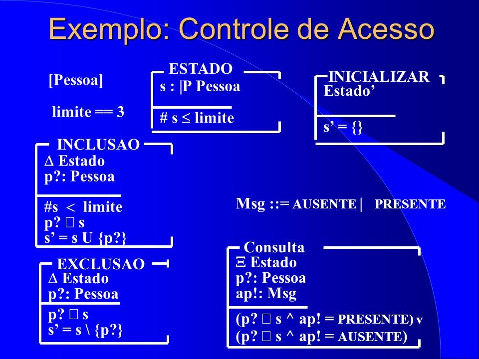 Exemplo: Controle de Acesso