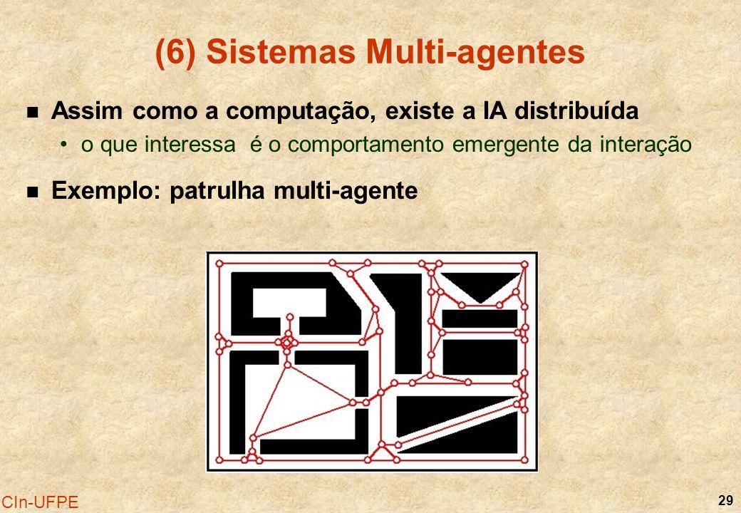 (6) Sistemas Multi-agentes