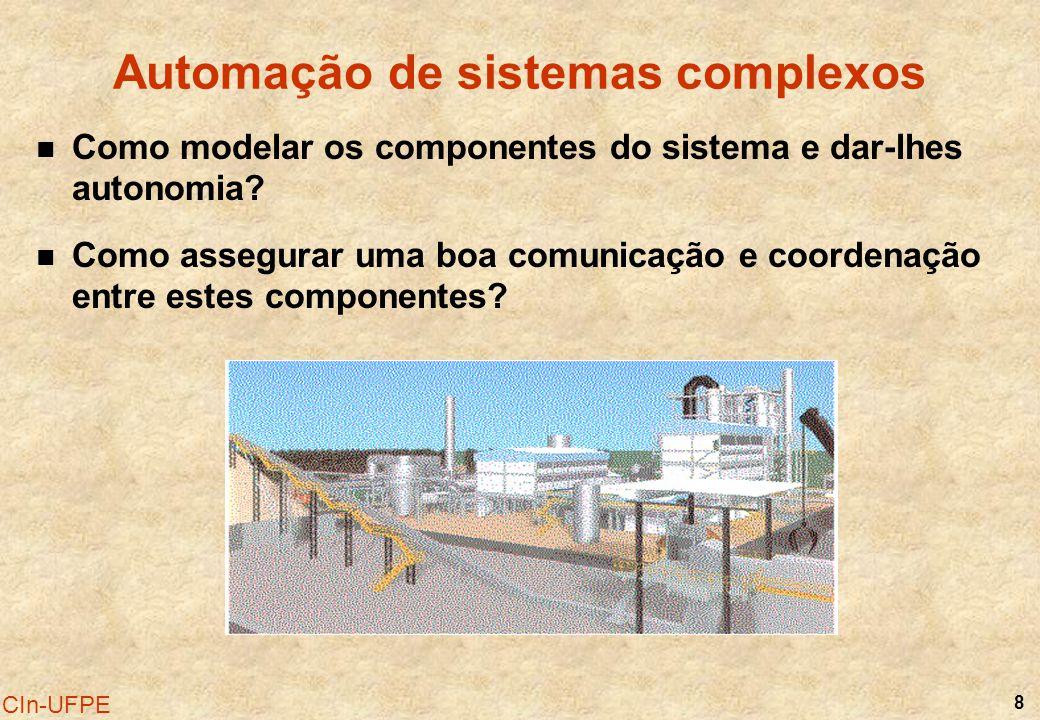 Automação de sistemas complexos