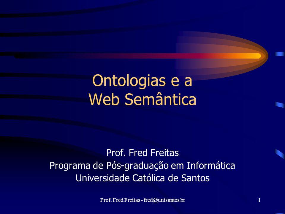 Ontologias e a Web Semântica