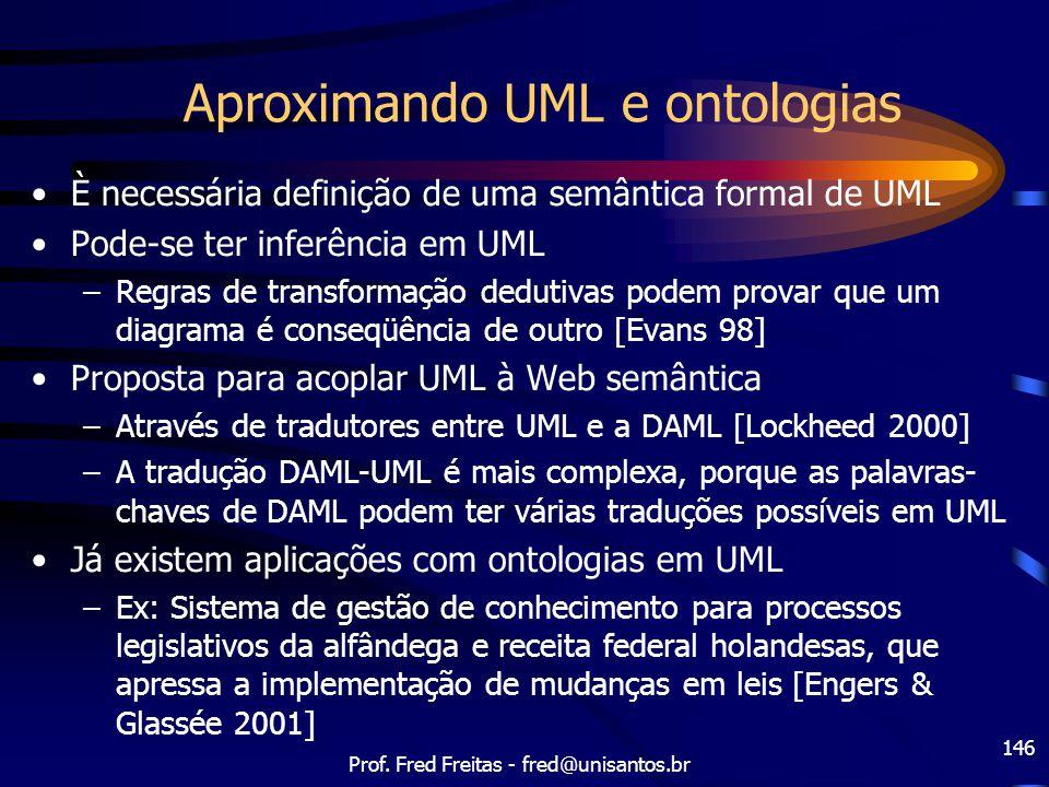 Aproximando UML e ontologias