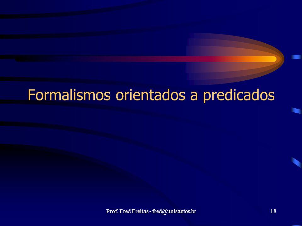 Formalismos orientados a predicados