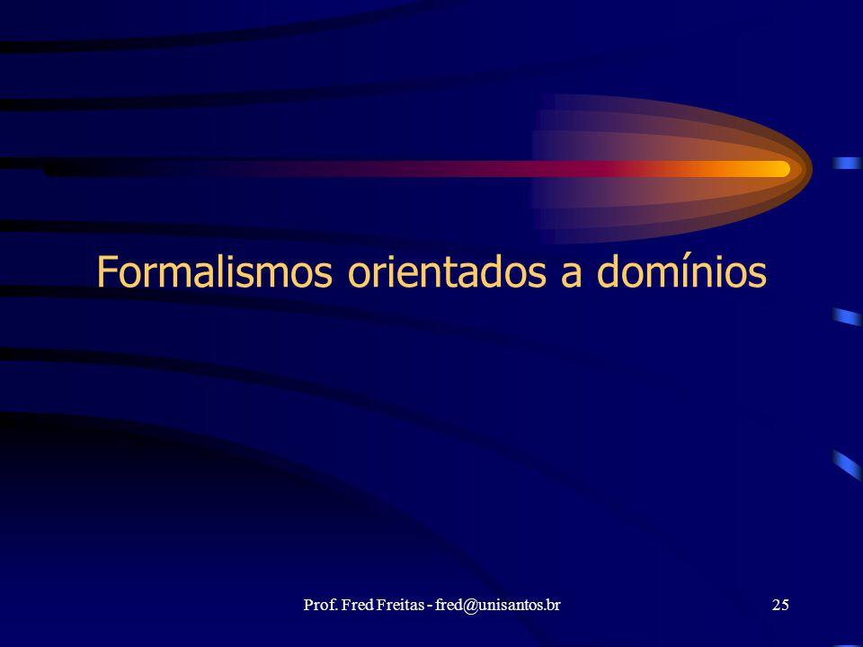 Formalismos orientados a domínios