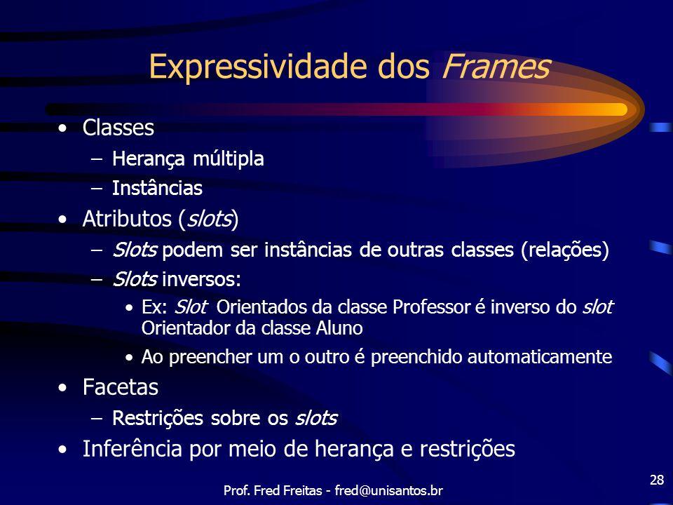Expressividade dos Frames