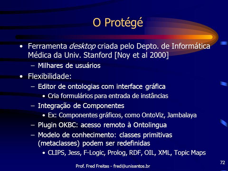 Prof. Fred Freitas - fred@unisantos.br