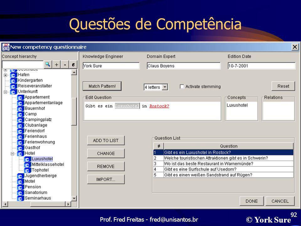 Questões de Competência