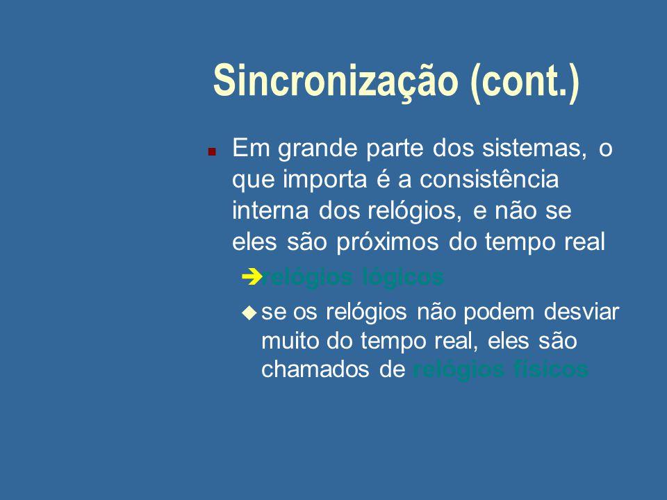 05/04/2017 Sincronização (cont.)