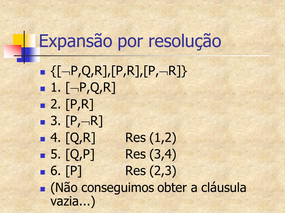 Expansão por resolução