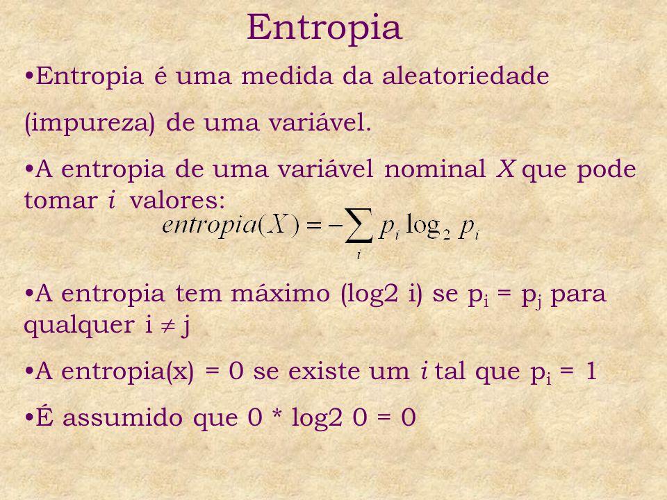Entropia Entropia é uma medida da aleatoriedade