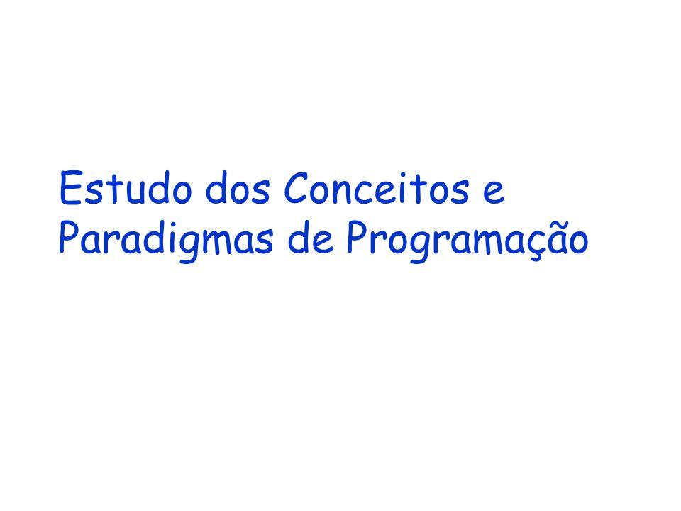 Estudo dos Conceitos e Paradigmas de Programação