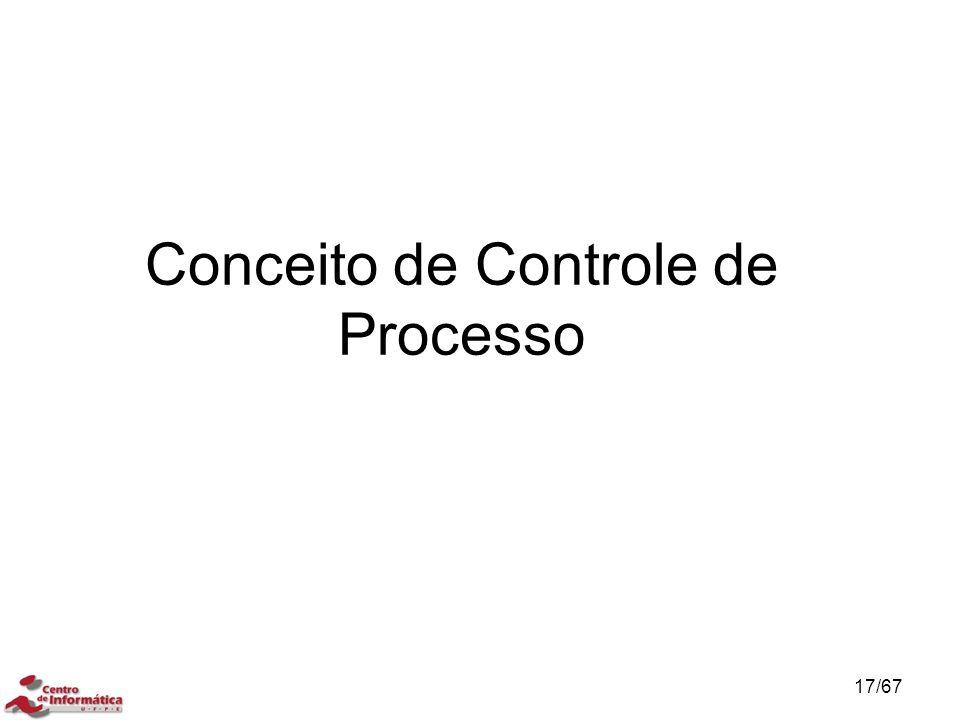 Conceito de Controle de Processo