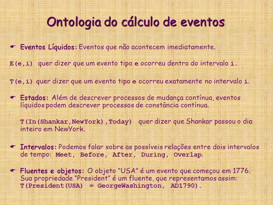Ontologia do cálculo de eventos