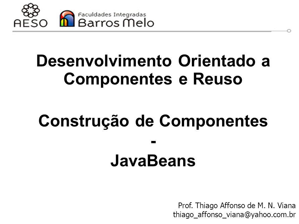 Desenvolvimento Orientado a Componentes e Reuso