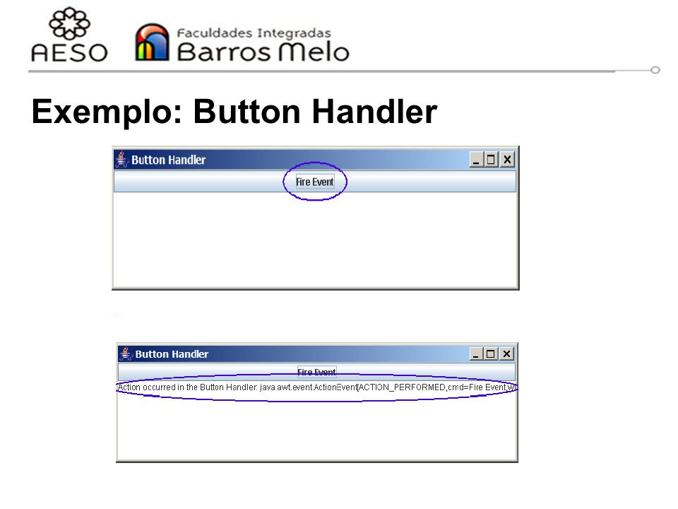 Exemplo: Button Handler
