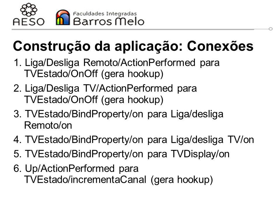Construção da aplicação: Conexões