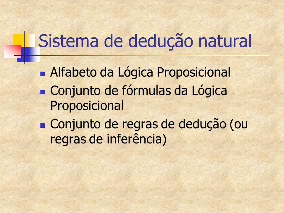 Sistema de dedução natural