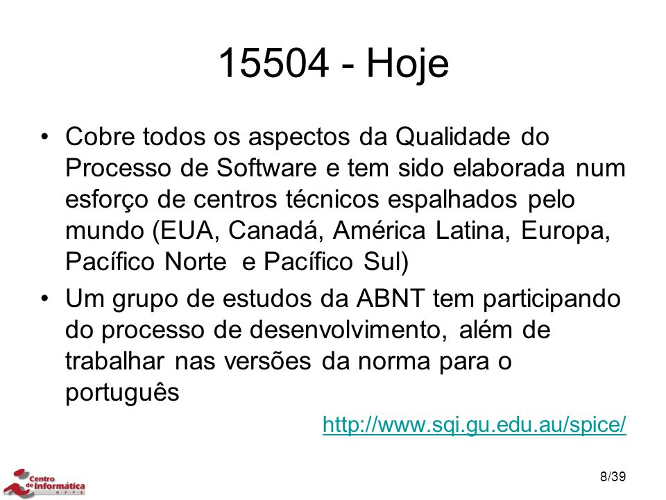 15504 - Hoje