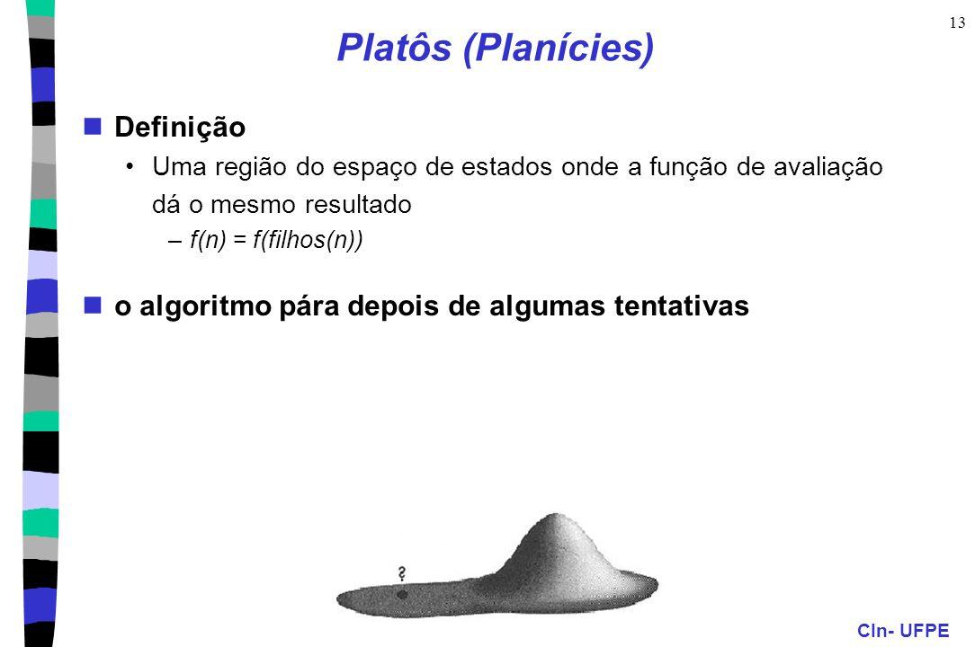 Platôs (Planícies) Definição