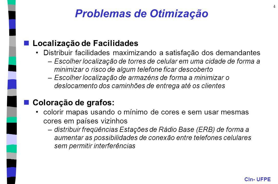 Problemas de Otimização