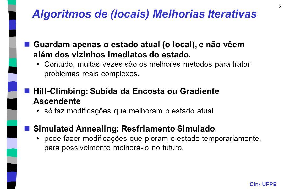 Algoritmos de (locais) Melhorias Iterativas